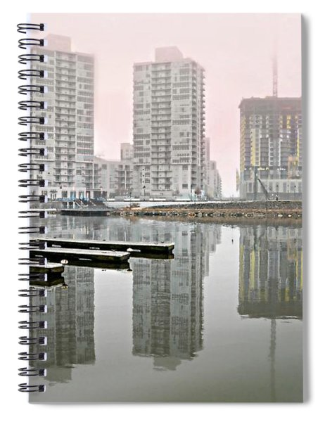 Harbor Point Towers Spiral Notebook