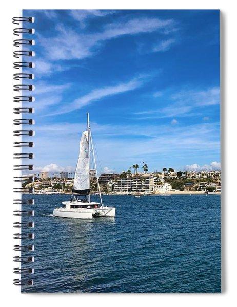 Harbor Sailing Spiral Notebook