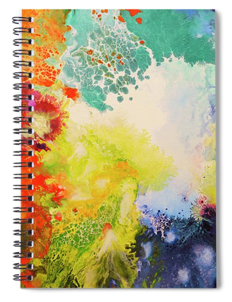 Harmonic Vibrations Spiral Notebook