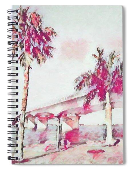 Harts Landing Sarasota Spiral Notebook