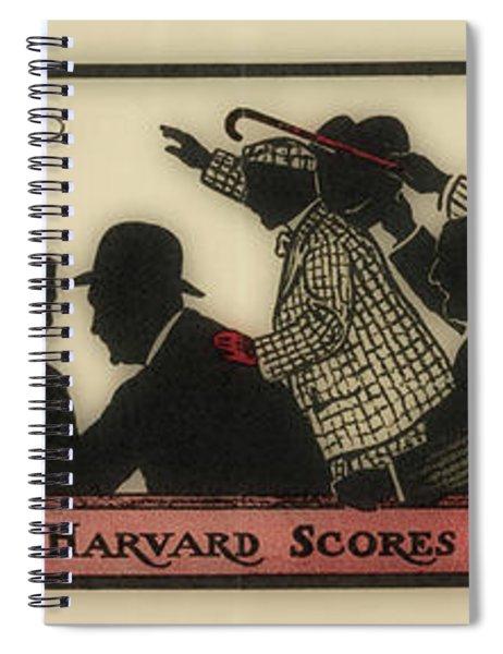 Harvard Scores, Circa 1910 Spiral Notebook