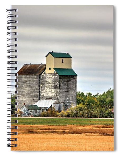 Harvest Elevator  Spiral Notebook