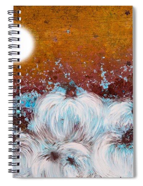 Harvest Pumpkin Spiral Notebook