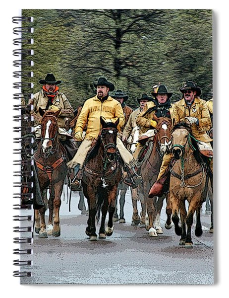 Hashknife Riders Spiral Notebook