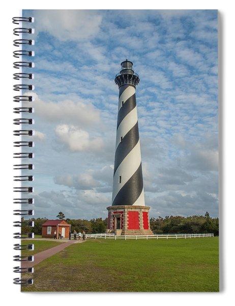 Hatteras Lighthouse Spiral Notebook