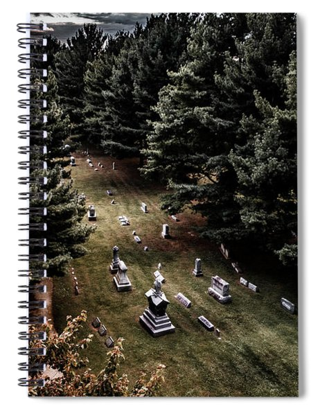 Haunting Memories Spiral Notebook