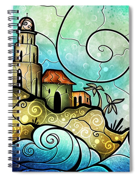 Havana Bay Spiral Notebook