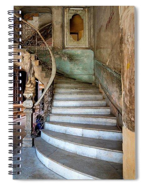 Havana Stairs Spiral Notebook