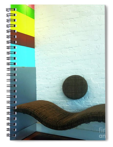 Have A Seat Spiral Notebook by Rick Locke