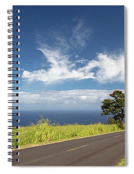 Hawaii Highway Spiral Notebook