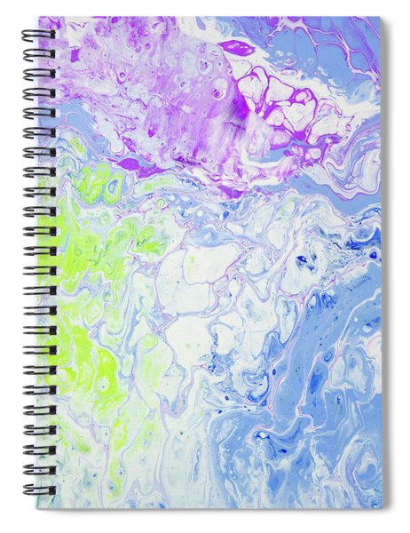 Spiral Notebook featuring the painting Hawaiian Dreams by Lisa Smith