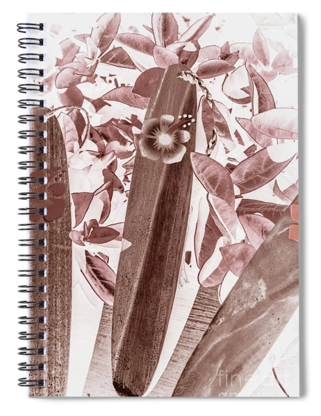 Hawaiian Surf Spiral Notebook