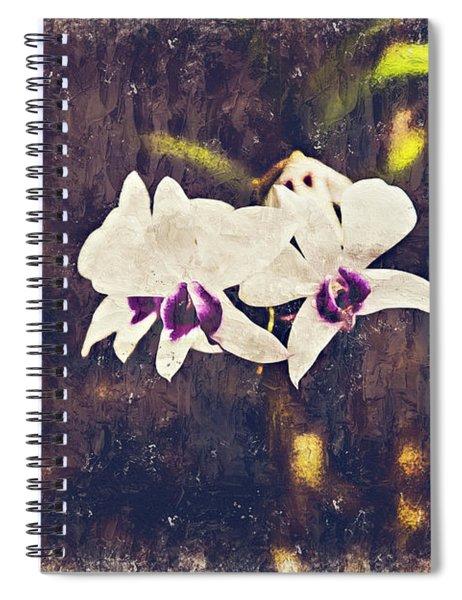 Hawaiian Tree Orchid Spiral Notebook