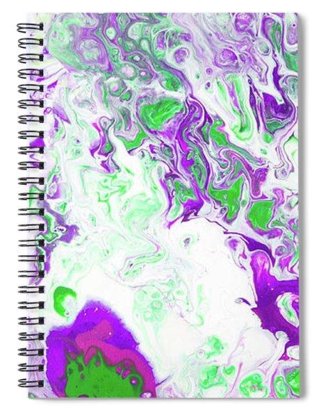 Hawiian Lilikoi Flower Spiral Notebook