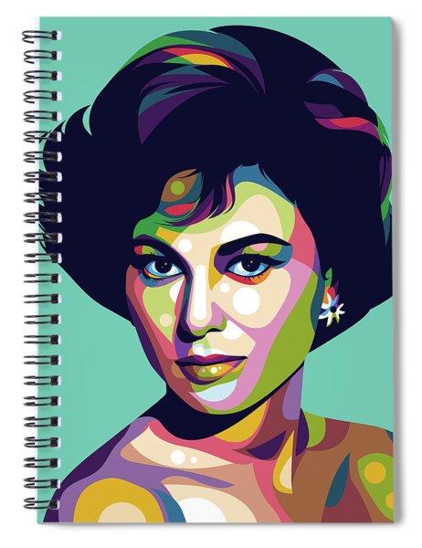 Haya Harareet Spiral Notebook