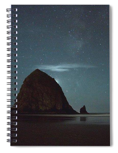 Haystack Under The Stars Spiral Notebook