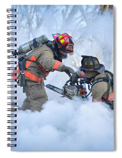 Hazardous Duty Spiral Notebook