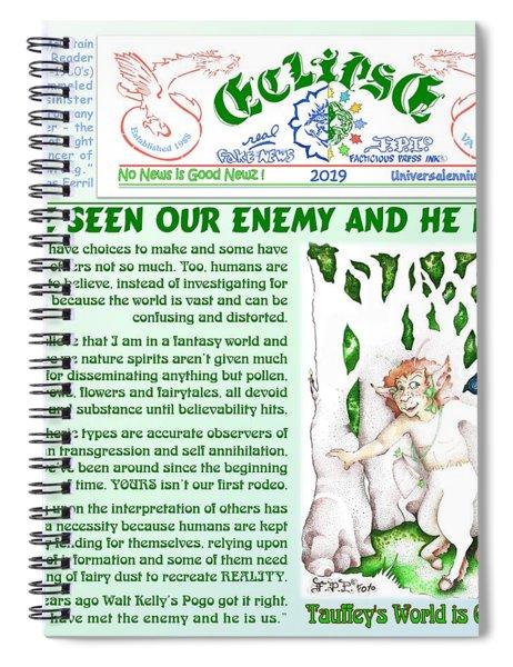 He Is We  Spiral Notebook