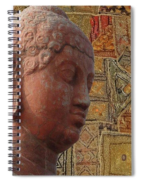 Head Of Buddha,  Spiral Notebook