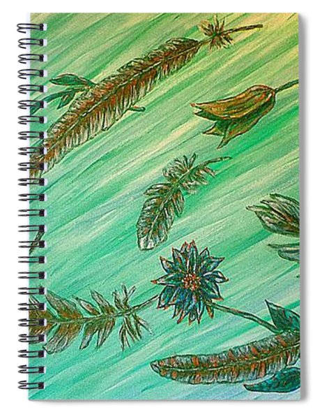 Healing Messages Spiral Notebook