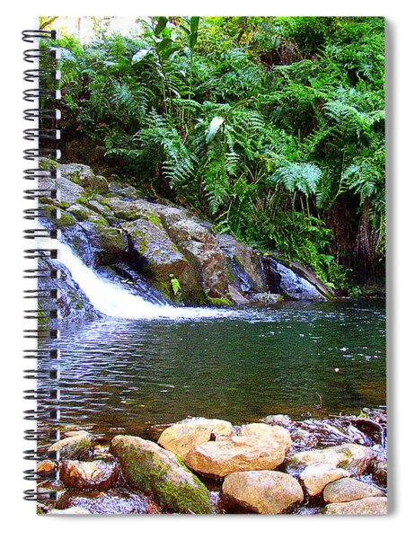 Healing Pool - Maui Hawaii Spiral Notebook