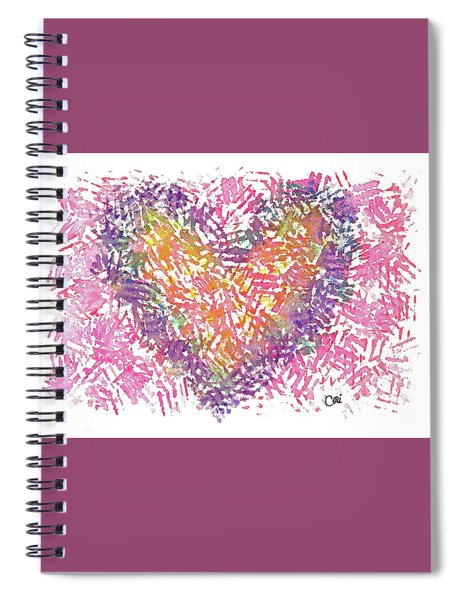 Heart 1006 Spiral Notebook