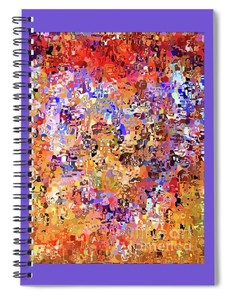 Heart Abstract 1001 Spiral Notebook