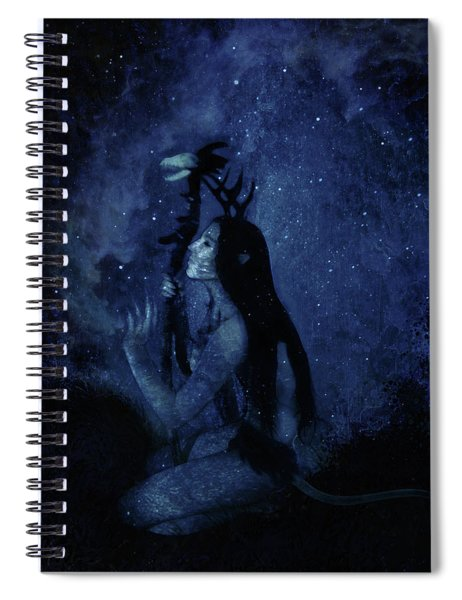 Heartbeat Of The Earth Spiral Notebook