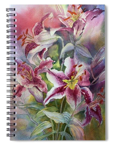 Heaven Scent Spiral Notebook
