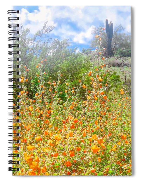 Heavenly Home In Arizona Spiral Notebook