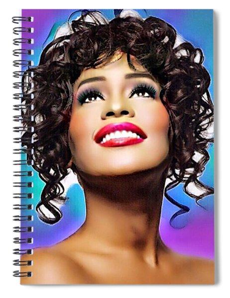 Heavenly Songbird Spiral Notebook