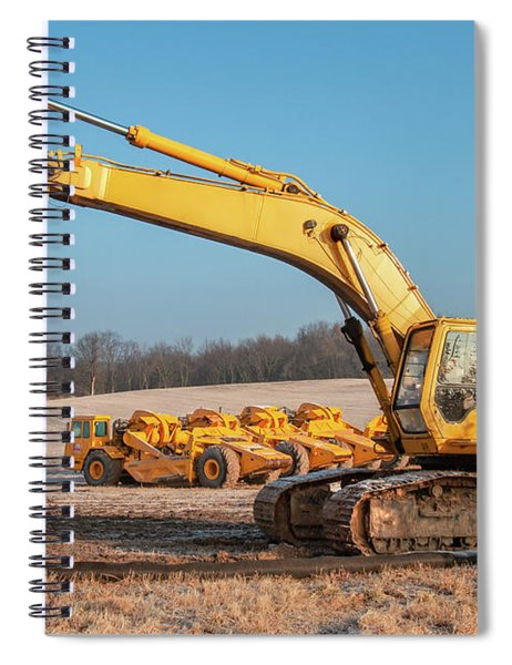 Heavy Equipment Spiral Notebook
