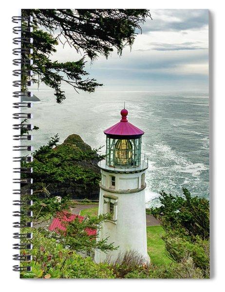 Heceta Head 2018 Lighthouse 2 Spiral Notebook