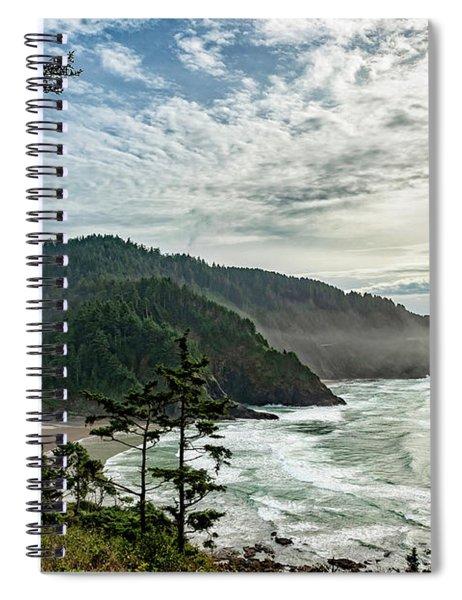 Heceta Head November 2018 Spiral Notebook