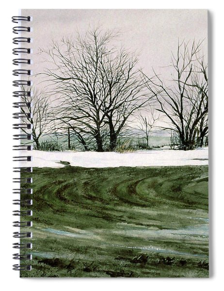 Hedge Row Spiral Notebook