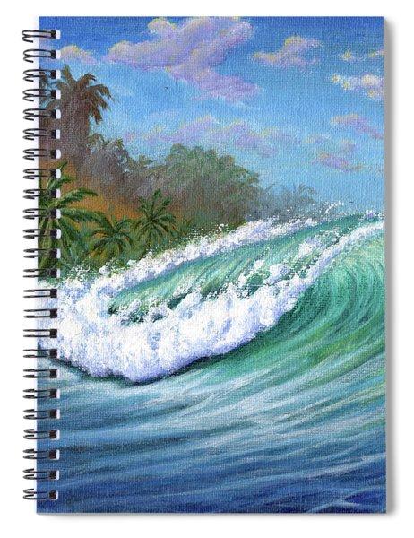 He'e Nalu Spiral Notebook