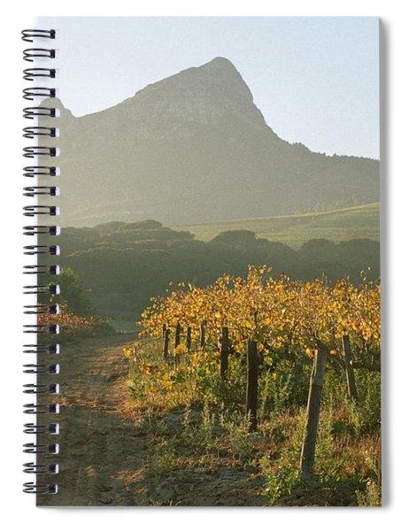 Helderburg Vineyard Spiral Notebook