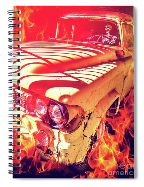 Hell Rider Spiral Notebook