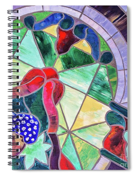 Heritage Hall Glass Spiral Notebook
