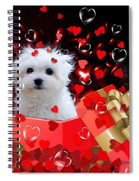 Hermes The Valentine Boy Spiral Notebook
