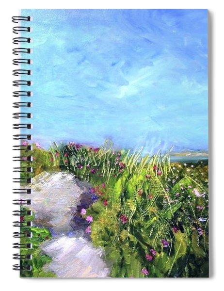 Herring Cove Flowering Dune Spiral Notebook