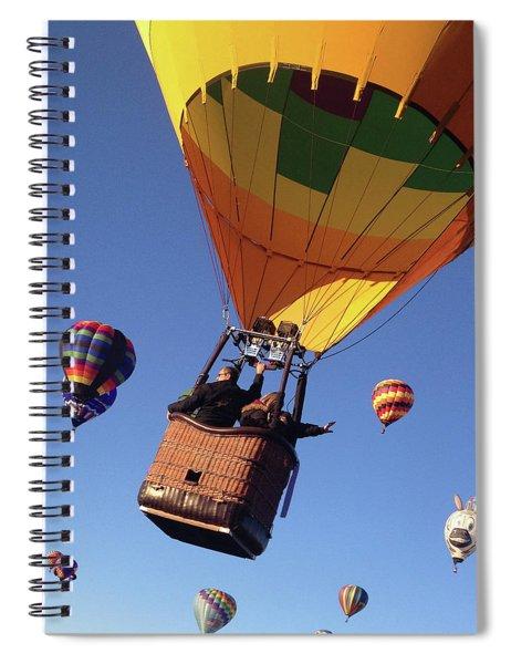 Hi From Up High Spiral Notebook