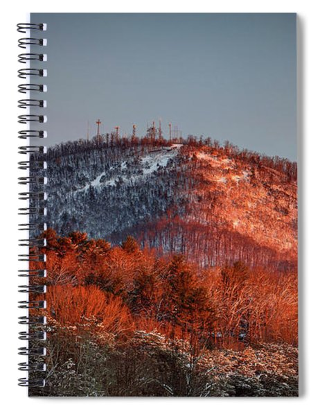 Hibriten Mountain - Lenoir, North Carolina Spiral Notebook