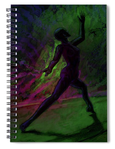 Hidden Dance Spiral Notebook