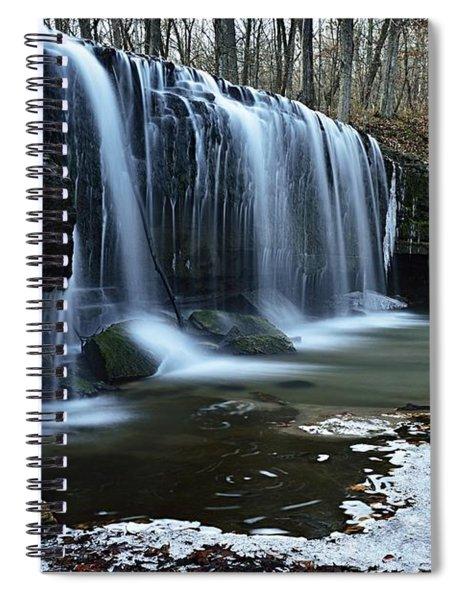 Hidden Falls Spiral Notebook
