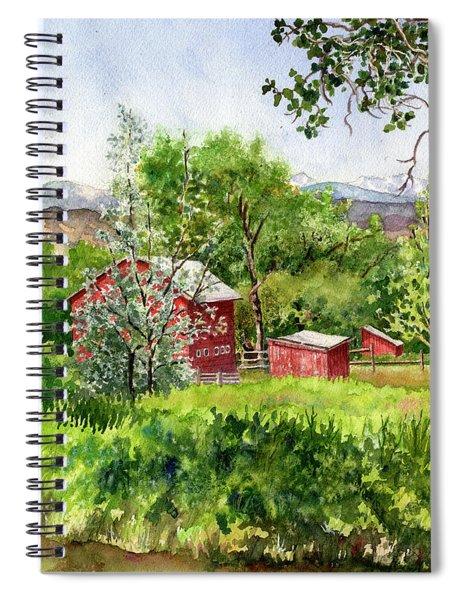 Hidden Farm Spiral Notebook