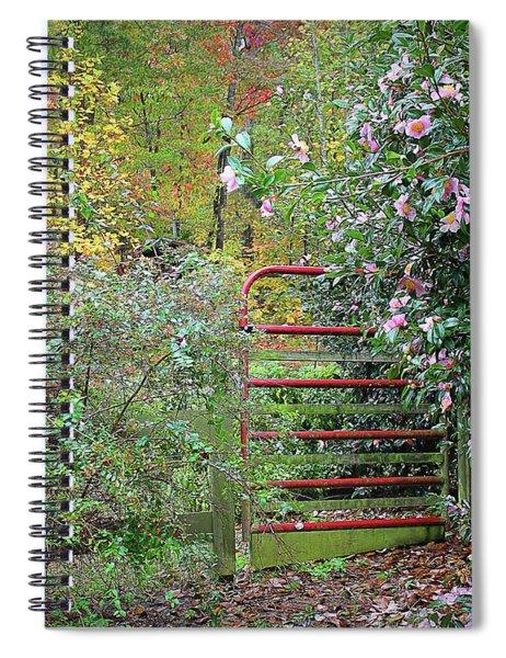 Hidden Gate Spiral Notebook