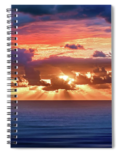 Hidden Spark Spiral Notebook
