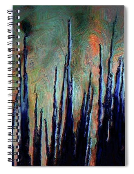 Hiding In The Tall Grass Spiral Notebook