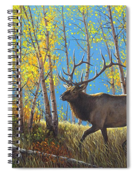 High Country Royalty Spiral Notebook